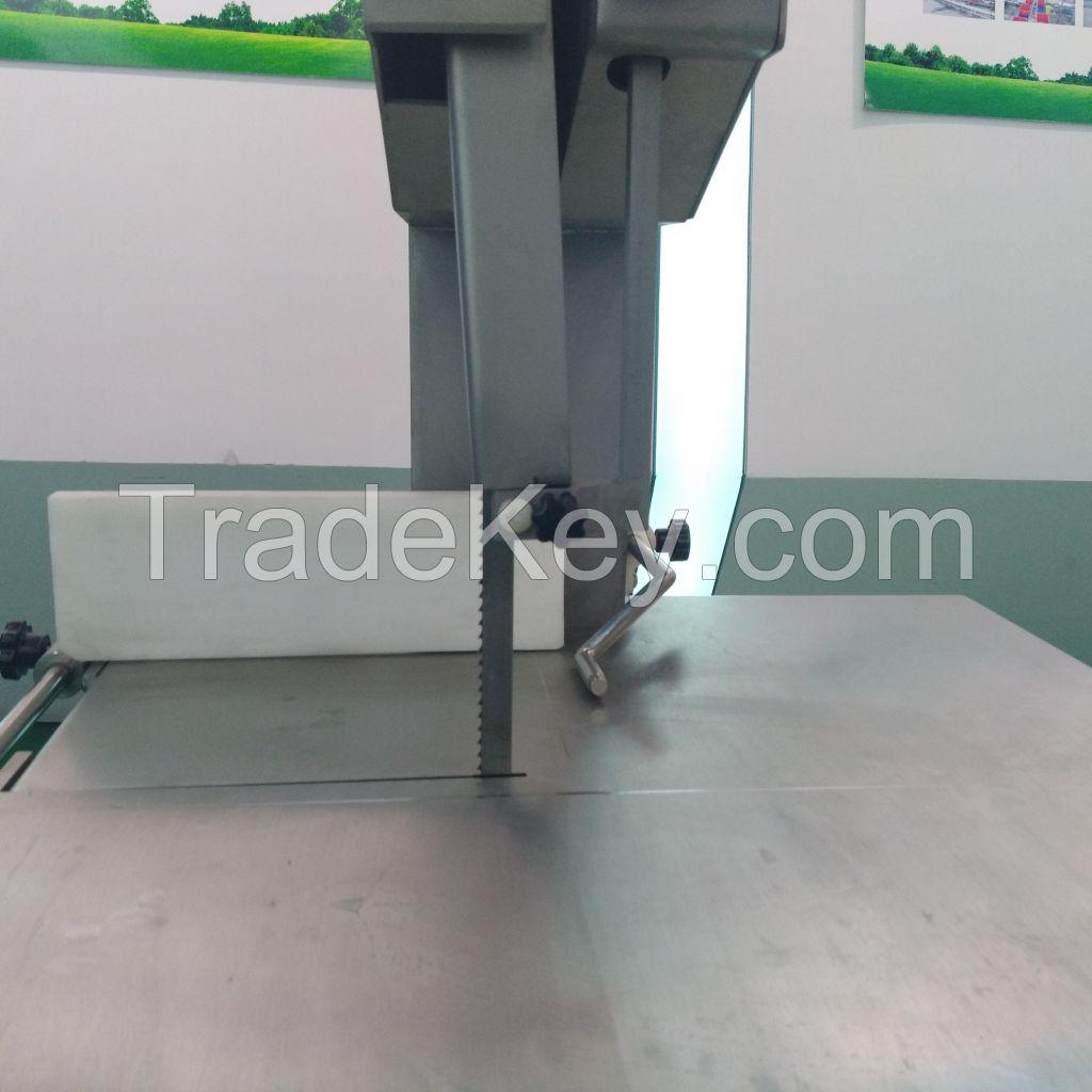 Frozen meat saw cutting machine