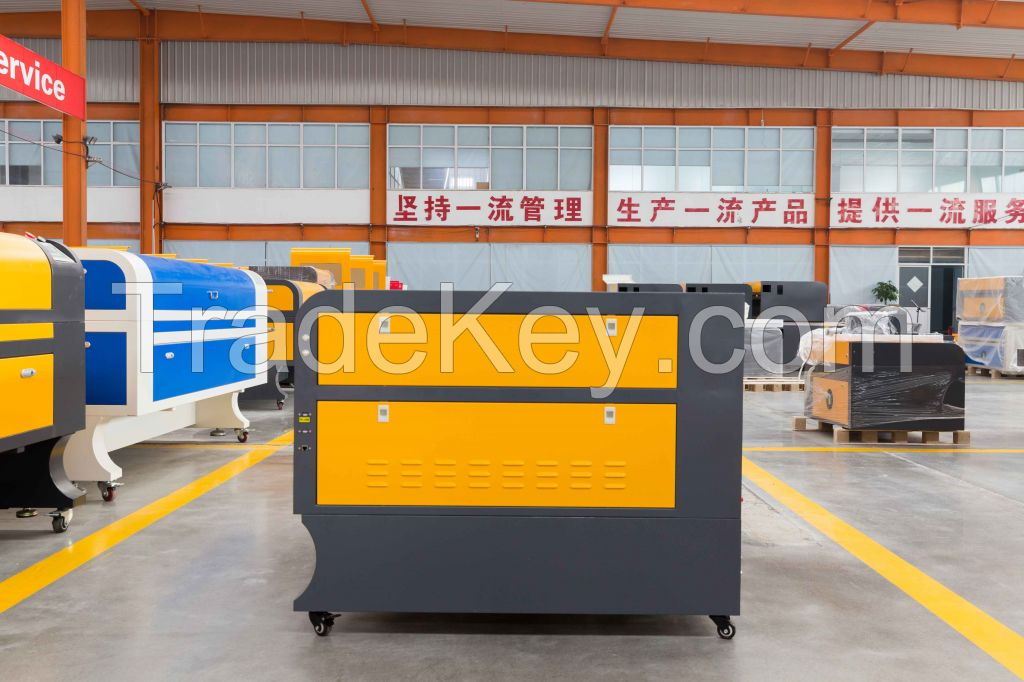 CE Standard CNC Laser Cutting Machine / Co2 Laser Engraving Machine 1080 / Wood Laser Carving Machine
