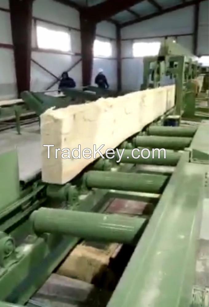 wood log sawmill line wood cutting saw line