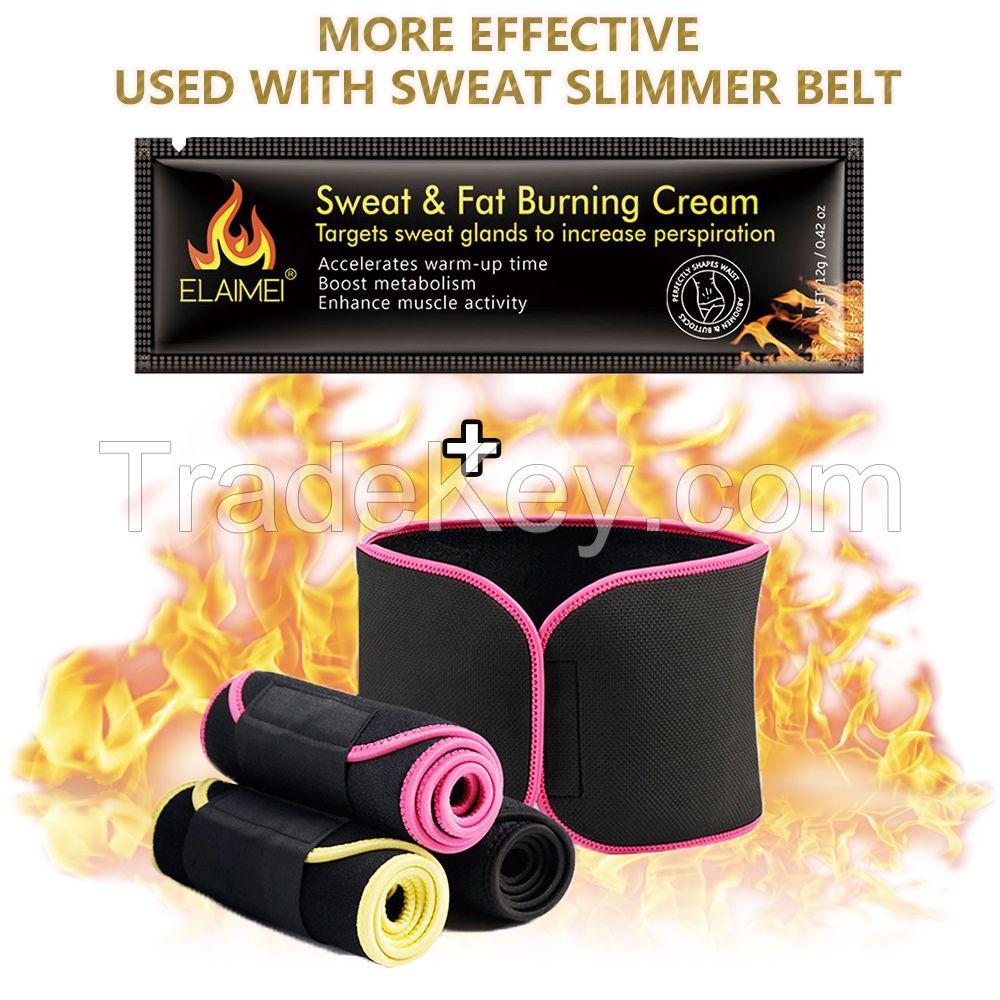ZMAKER Elaimei Waist Slimming Body Cream Stomach Fat Burning Gel Hot Cellulite Slim`