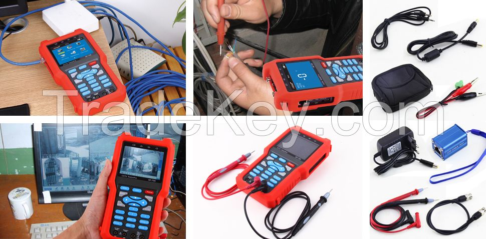 CCTV Accessories Analog Camera CVBS Monitor Tester NF-706 Network Video Cable Tracer