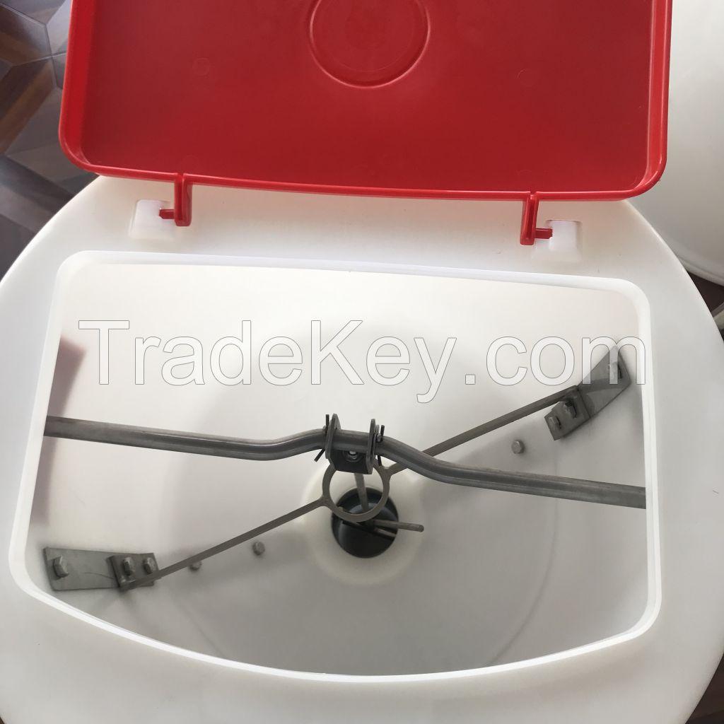 Animal automatic wet-dry feeder for pig farm equipment