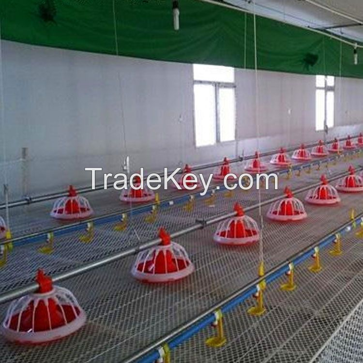 automatic animal pan Poultry Feeders And Drinkers for chicken