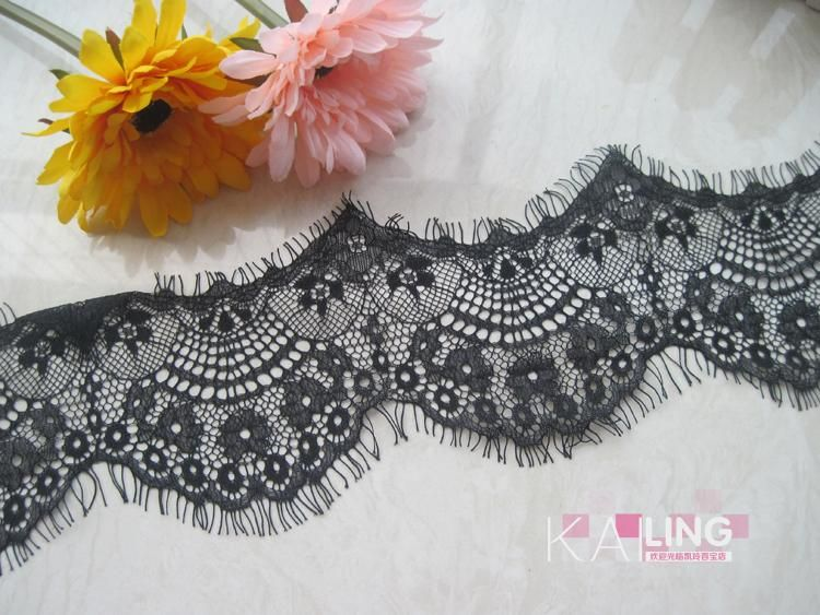 eyelash lace hot sell in middle east