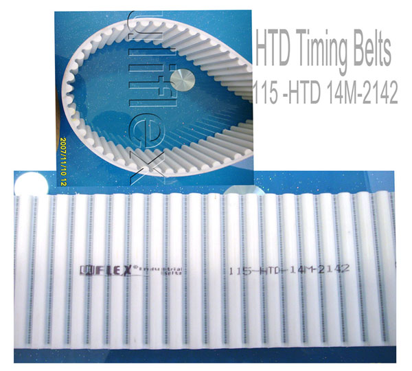 Arc Teeth Industrial Polyurethane Timing Belt