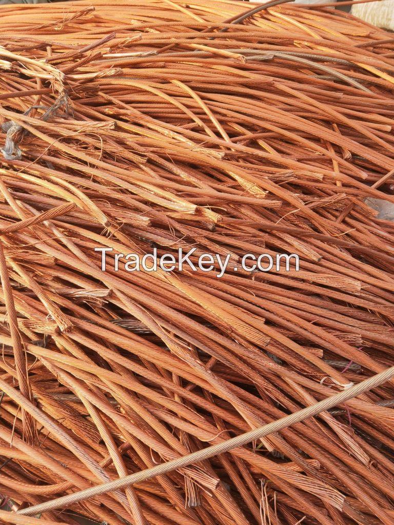 Bare Bright Copper Wire Mill-berry Metal Scrap