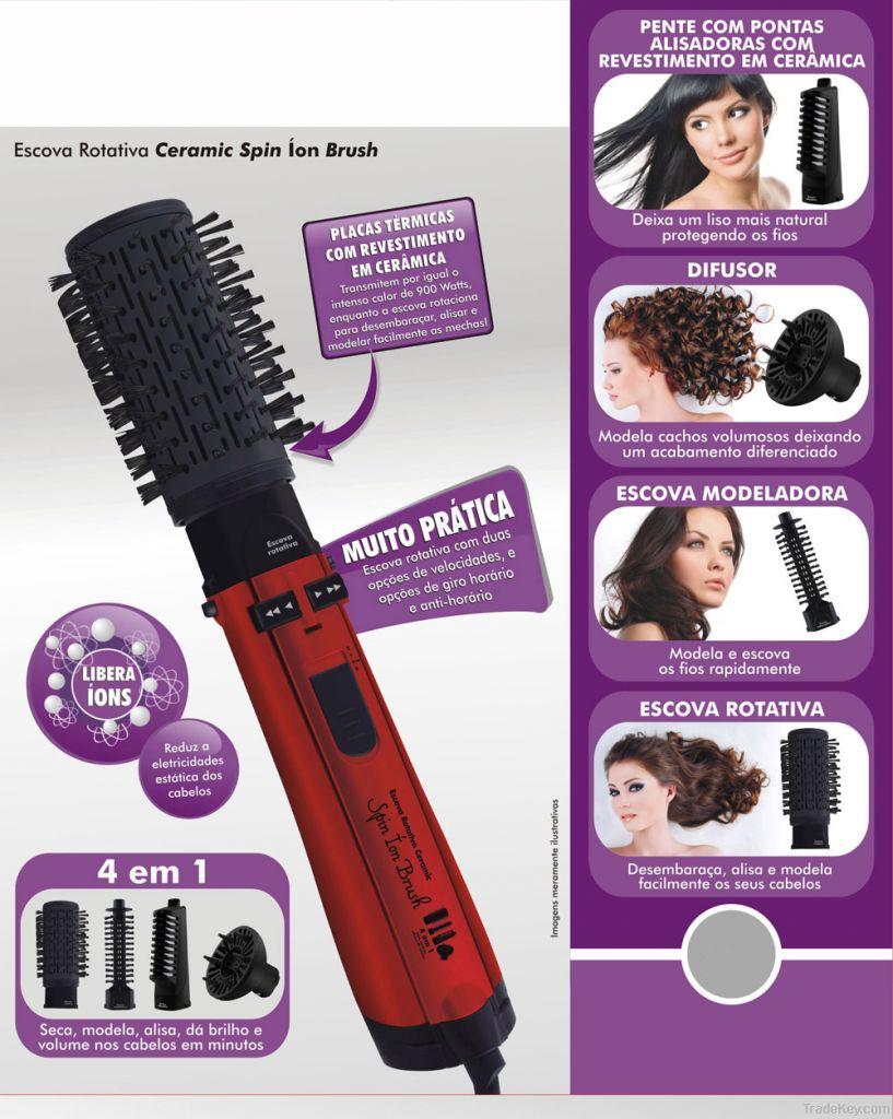 Hot Air Rotating Hair Brush