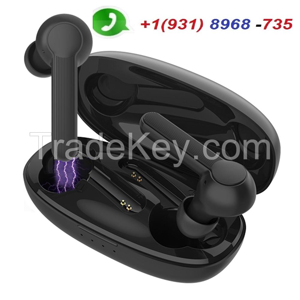 Wireless Earbuds Headset Bluetooth 5.0 Headphones IPX5 Waterproof