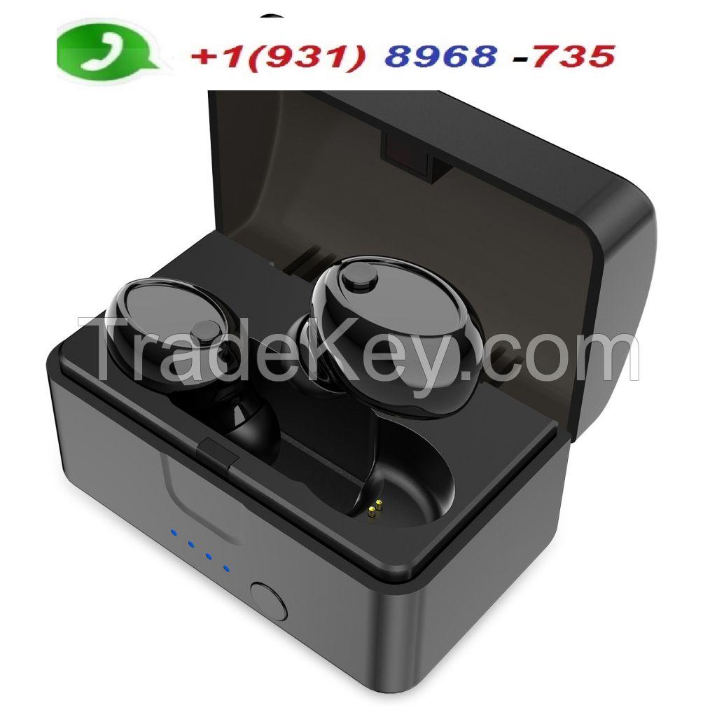 Mini Wireless Earbuds Bluetooth 5.0 Earpiece Headphone - Noise Cancelling Sweatproof