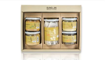 5-type natural seasoning set