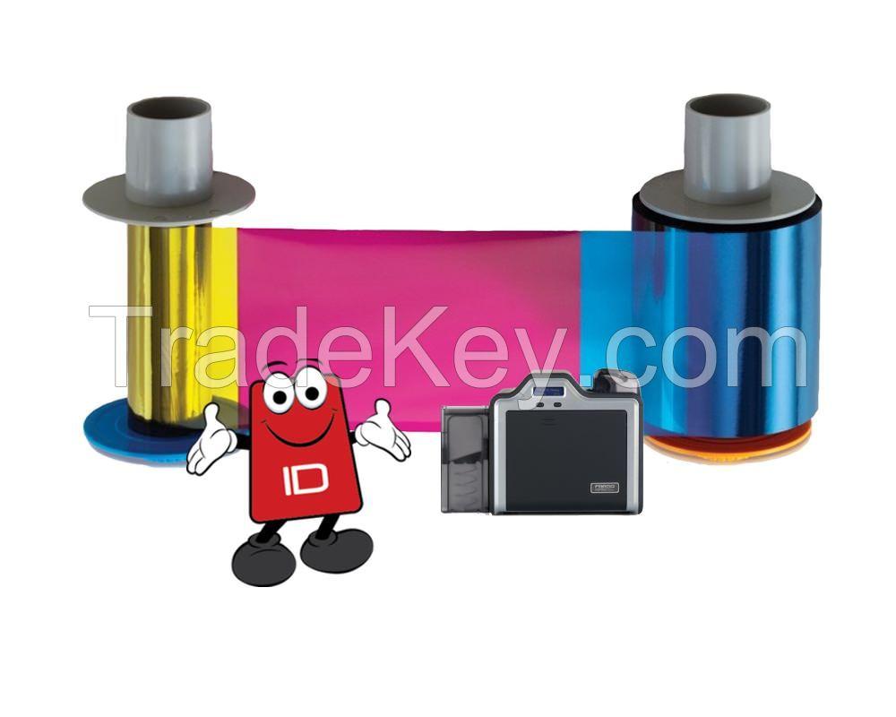 Fargo YMCK (84051) COLOUR Ribbon | 500 image prints | HDP5000, HDPii