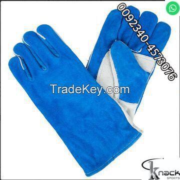 Till man welding 707 working 16 inches red color wapda base gloves maker