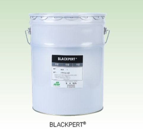 Korea Anti Corrosion Water-based Zinc Flake Coating - BLACKPERT (Black Series)