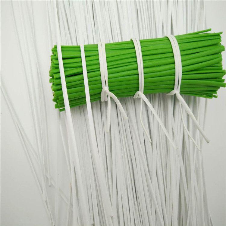 Factory Direct Sales Flexible Plastic Twist Ties White In Stock