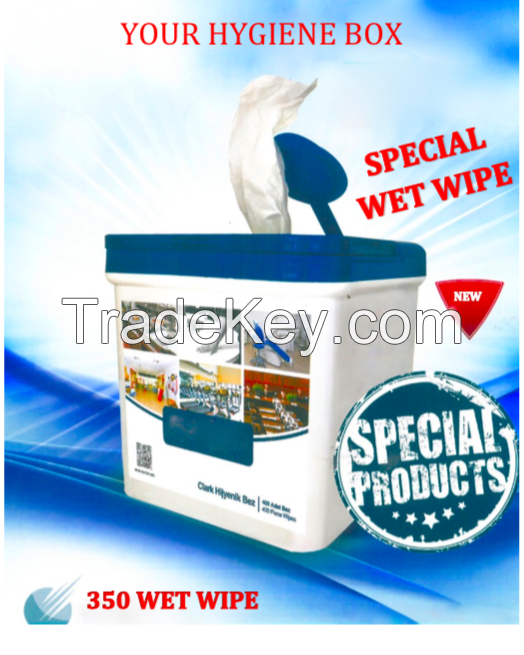 350  pcs ANTIBACTERIAL WET WIPES