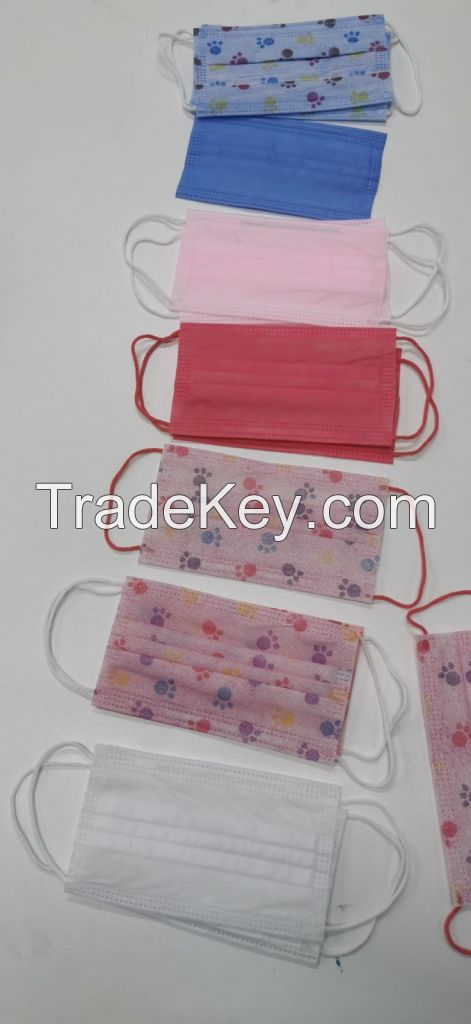 3 PLY CHILD SURGICAL Mask