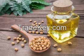 High Quality Refined Soybean Oil / crude degummed soybean oil