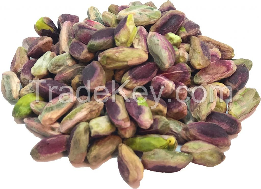 wholesale green peeled pistachio kernels with low price