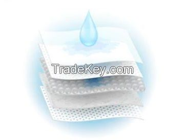 High Quality Spunlace Nonwoven Fabric Disposable Baby Diapers and Nappies