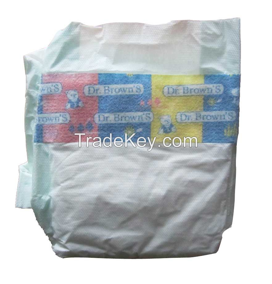 Diapers High Quality Disposable Comfortable Baby Diapers B Grade Cheaper Baby Diapers