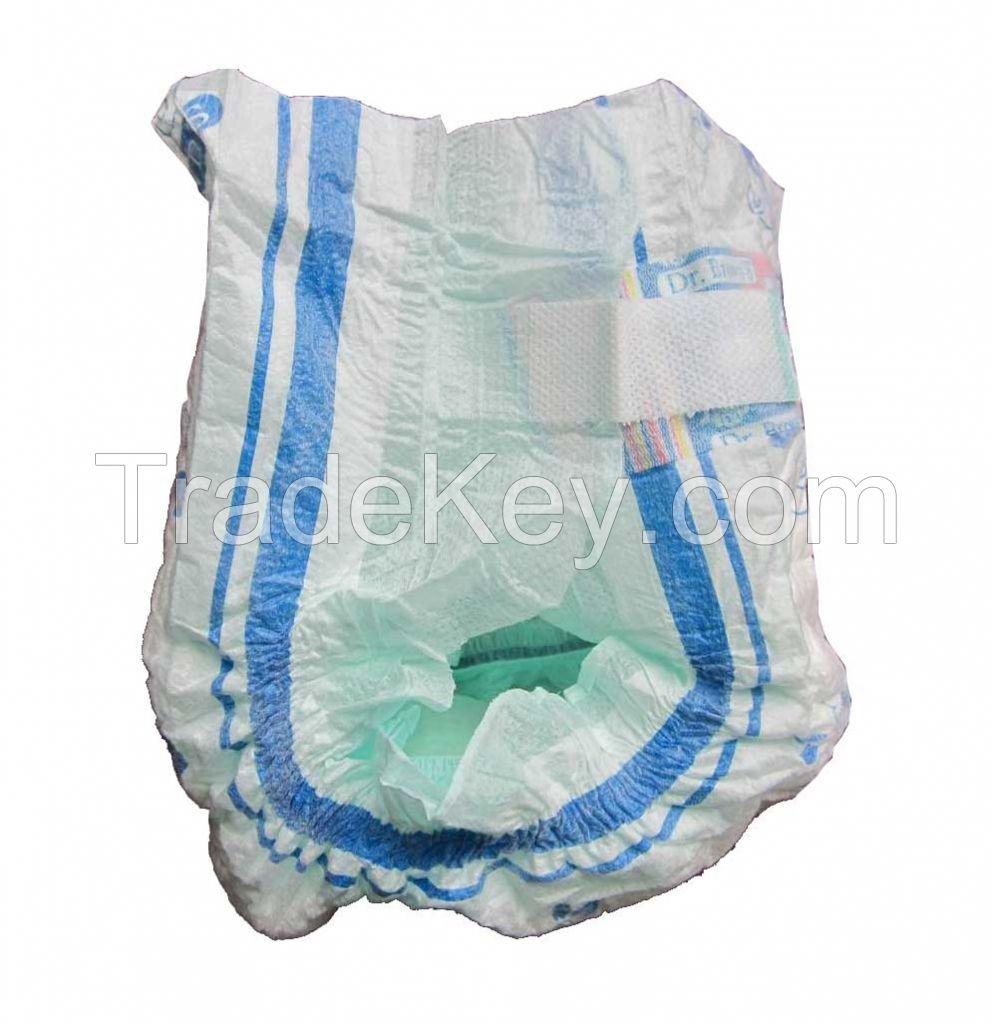 16001484604401/6 Diapers Elastic Diapers Sensitive Elastic Baby Diapers Thin