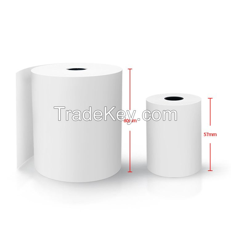customized Anti friction thermal paper in Specialty Paper for bank