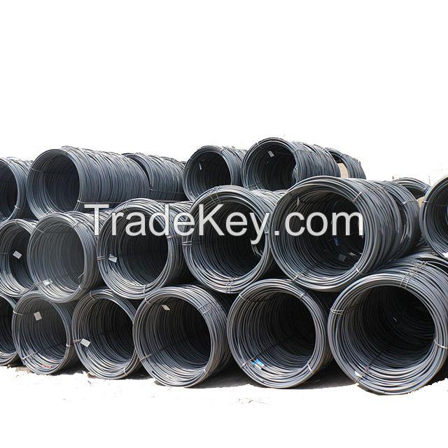 SAE1008 45 60 70 80 65Mn 82B Steel Grade High Carbon Steel Wire