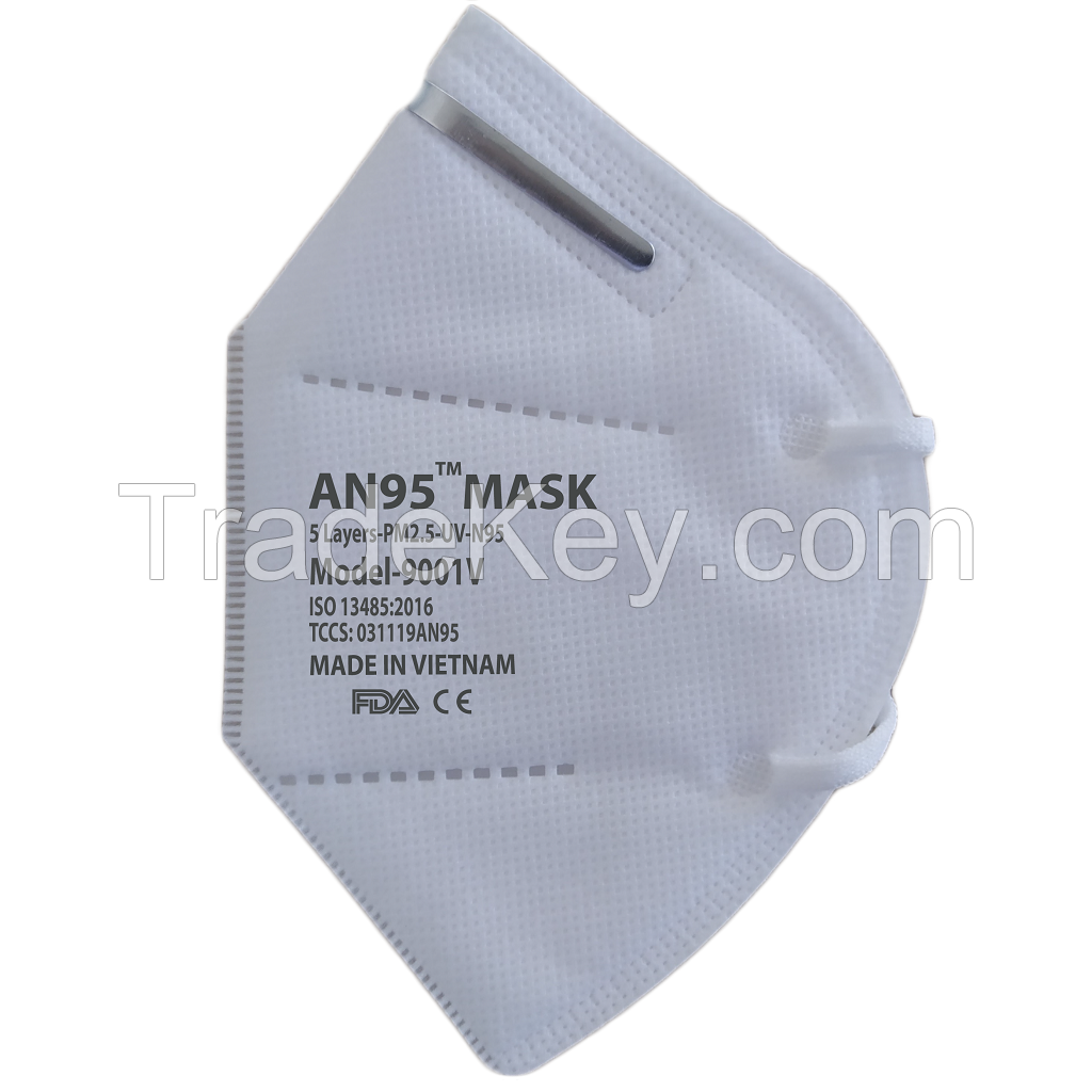 5 ply AN95 Mask (no valve) CE Certified KN95 N95 respirator