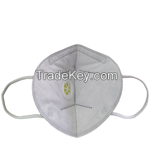 AN95 respirator mask 5 ply (valve, grey) CE Certified Made in Vietnam KN95