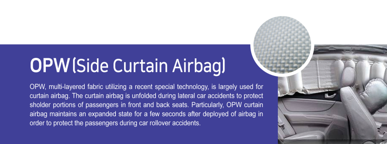 OPW(Side Curtain Airbag)