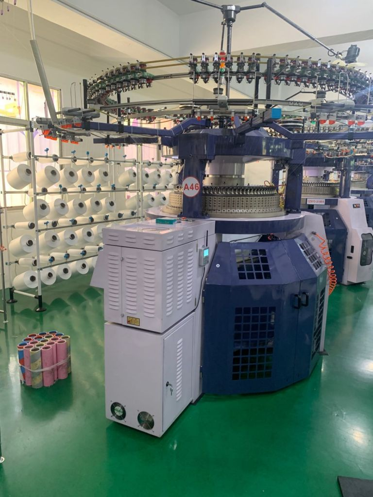 High speed double jersey knitting machine