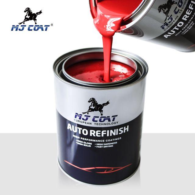 Car paint refinish