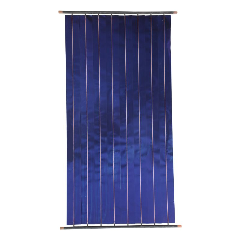 Household blue flat plate solar heat collector