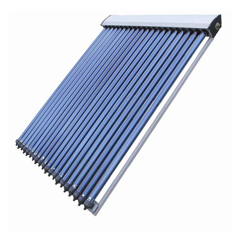 Rooftop Heat Pipe Vacuum Tube Solar Collector