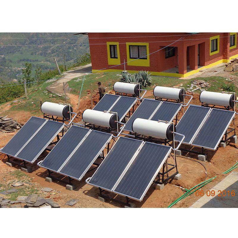 Stainless Steel Horizontal Solar Storage Water Tank