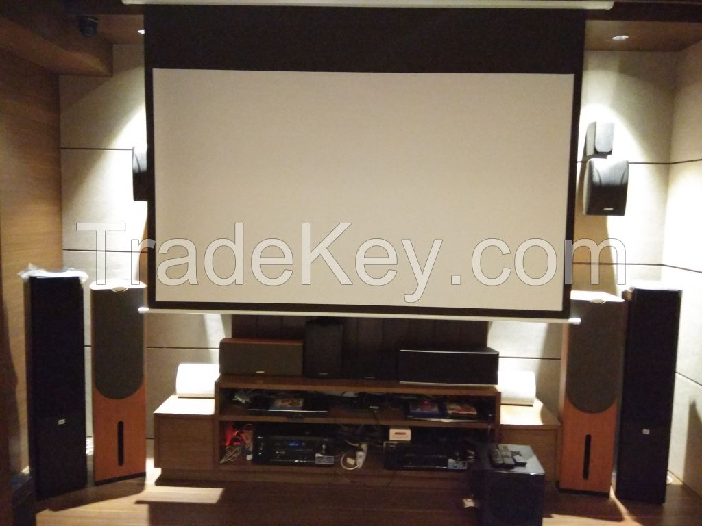 PA BGM and Home Theater System