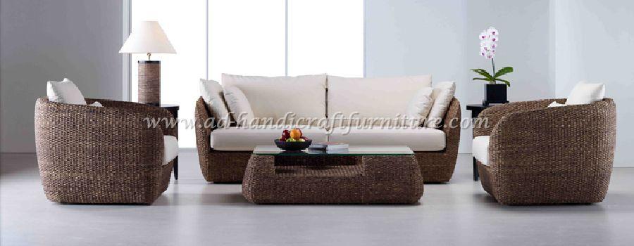 Poly Rattan Sofa Set WASF009