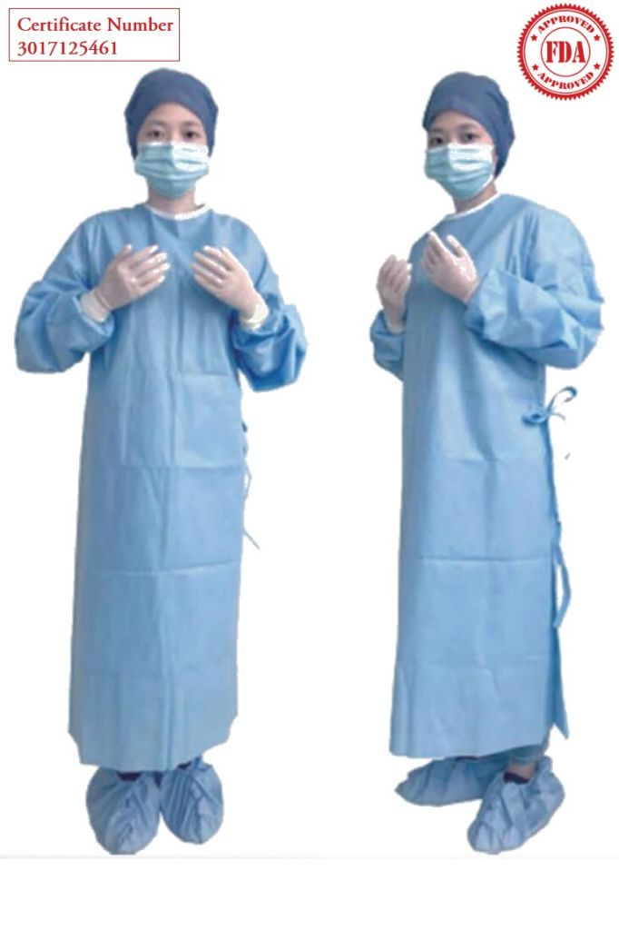 Surgical Gown 510K Level 3 Level 4 Certified