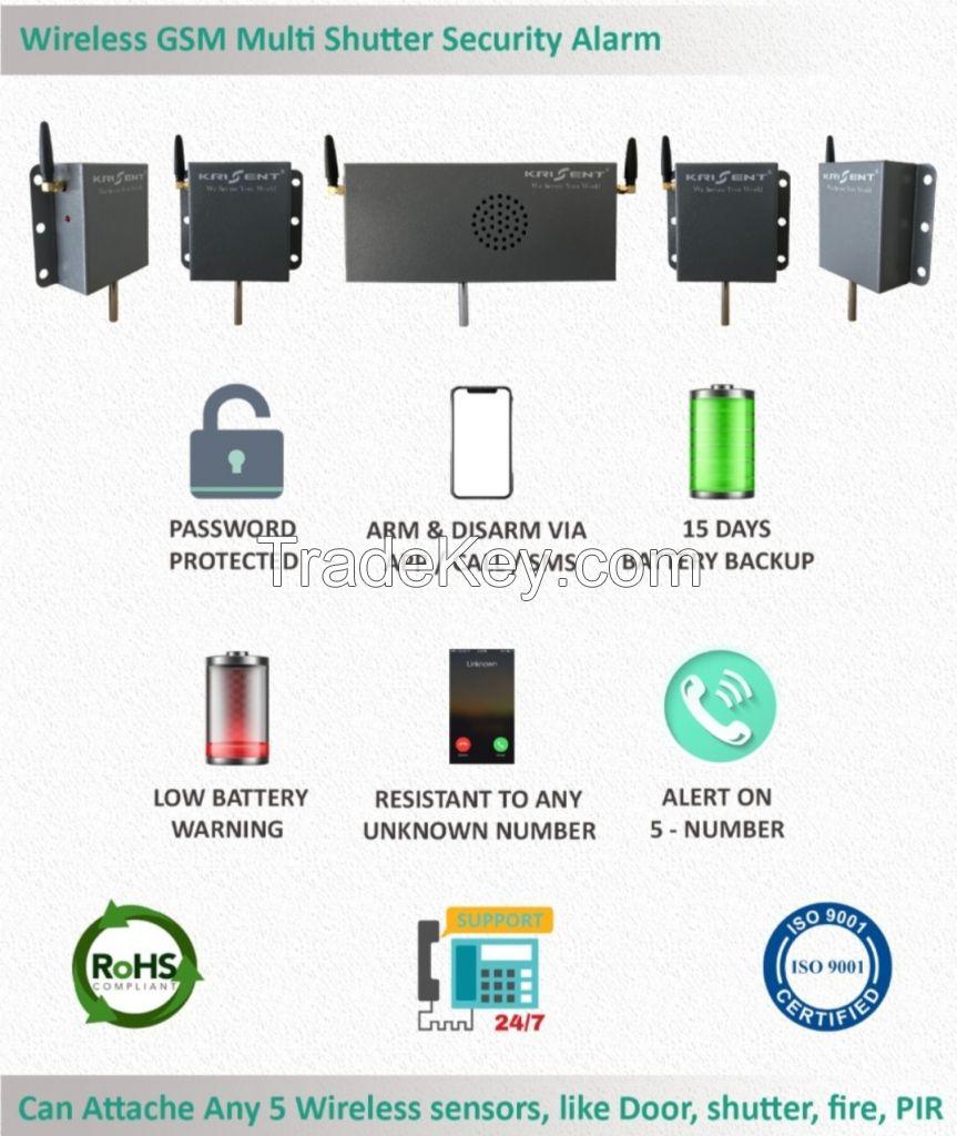 GSM Shutter/Door Safety Siren