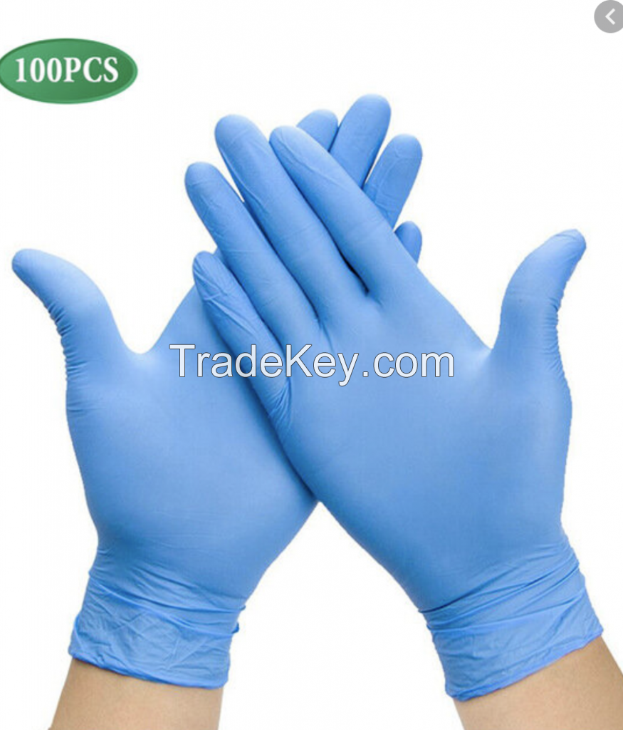 wholesale nitrile gloves ,Nitrile glove, easy disposable Latex powder free medical glove