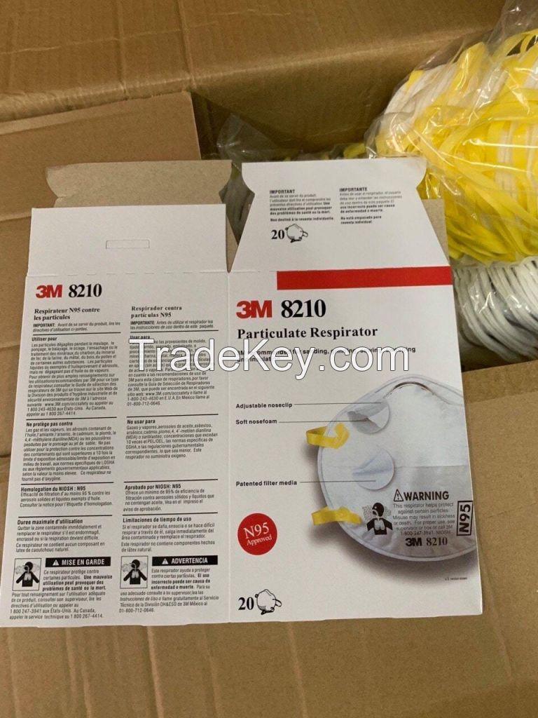 N95 mask N95 respirator 3M 8210 Face Mask