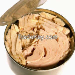 Factory price of Canned Tuna in Brine and vegetable oil