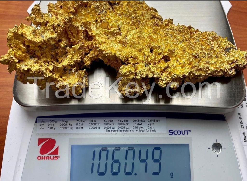 gold raw/ gold nuggets