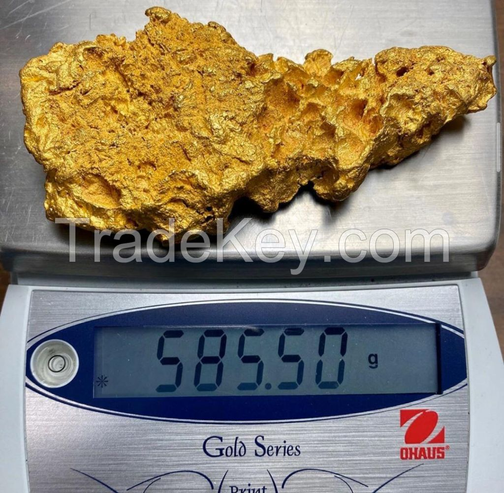 raw gold/gold nugget