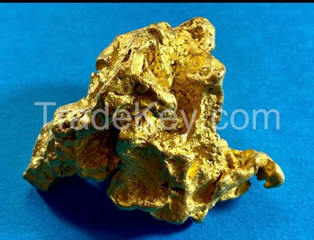 Raw gold / gold nugget