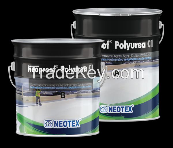 Polyurea Waterproofing Materials | Waterproofing coatings for roofs