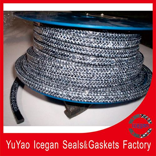 PTFE braided packing with multi-filament yarn(IG-015)