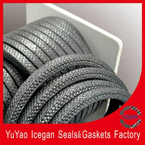 reinforced PTFE graphite braided packing(IG-019)