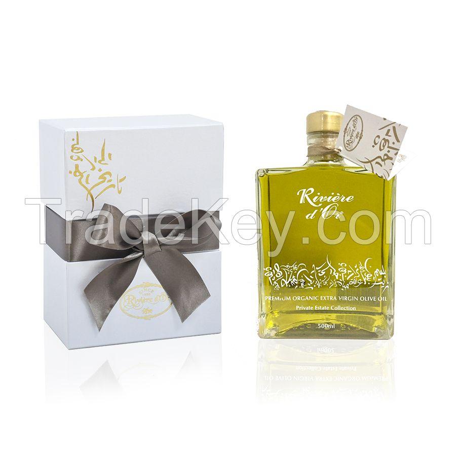 Organic Extra Virgin Olive Oil Karat Gift Bottle 500mL