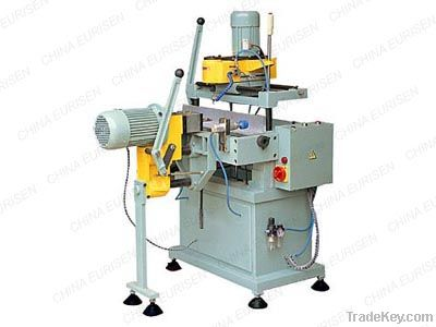 Lock-hole processing machine